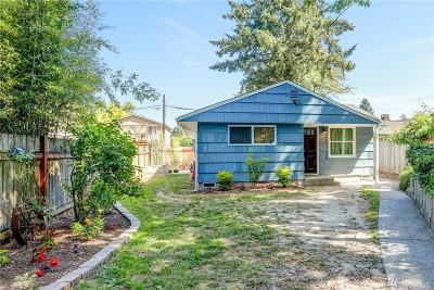 Seattle Single Family Home For Sale: 846 S Trenton St