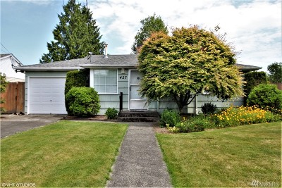 Puyallup Single Family Home For Sale: 427 13th St SW