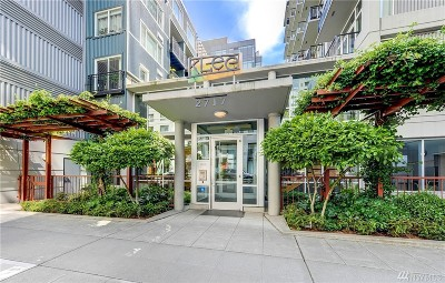 Seattle Condo/Townhouse For Sale: 2717 Western Avenue #522