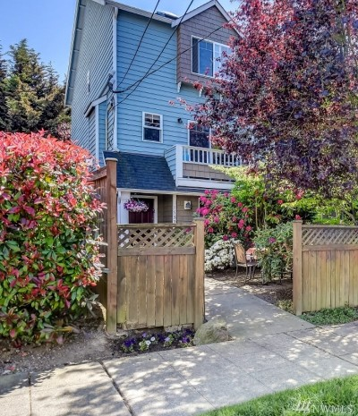 Seattle Single Family Home For Sale: 1533 NW 51st St