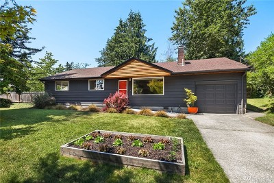 Lake Forest Park Single Family Home For Sale: 15815 33rd Ave NE