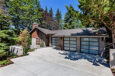 Clyde Hill Single Family Home For Sale: 8610 NE 20th St