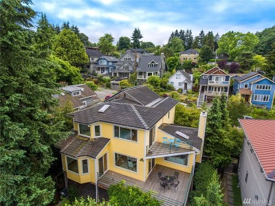 Seattle Single Family Home For Sale: 2716 4th Ave W