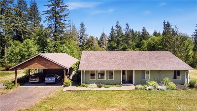 Olympia Single Family Home For Sale: 8230 Johnson Point Rd NE