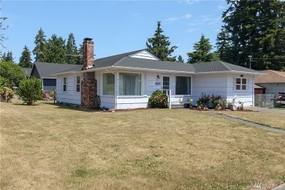 Fircrest Single Family Home For Sale: 815 Ramsdell St