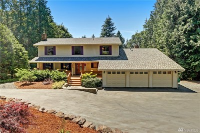 Woodinville Single Family Home For Sale: 21707 NE 176 Place