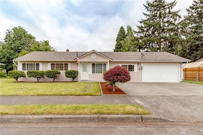 Auburn WA Single Family Home For Sale: $319,950