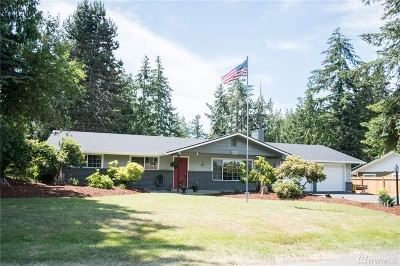 Centralia Single Family Home For Sale: 1007 Swanson Dr
