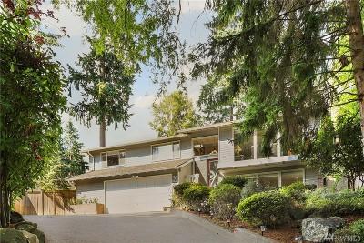 Bellevue WA Single Family Home For Sale: $1,599,000