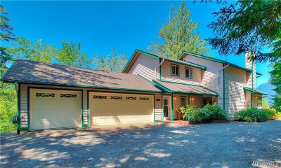 Hoodsport Single Family Home For Sale: 5791 N Lake Cushman Rd