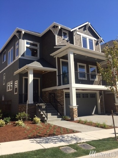 Issaquah Single Family Home For Sale: 470 5th (Lot 15) Ave NE