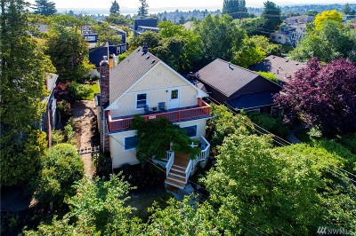 Seattle Single Family Home For Sale: 608 21st Ave E