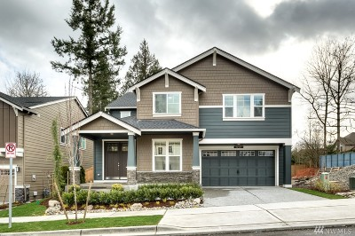 King County Single Family Home For Sale: 12409 NE 150th St #11