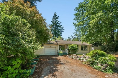 Seattle Single Family Home For Sale: 333 N 133rd St