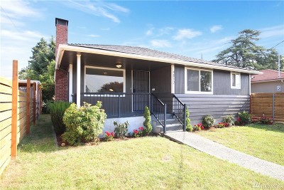 Seattle Single Family Home For Sale: 4812 S Rose St