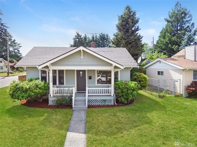 Single Family Home For Sale: 7448 Tacoma Ave S
