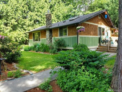 Whatcom County Single Family Home For Sale: 6262 North Fork Rd
