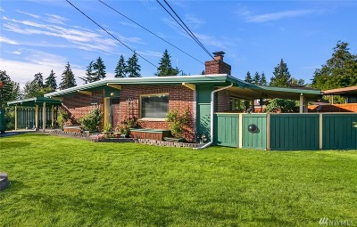 Bellevue Single Family Home For Sale: 15404 SE 11th St