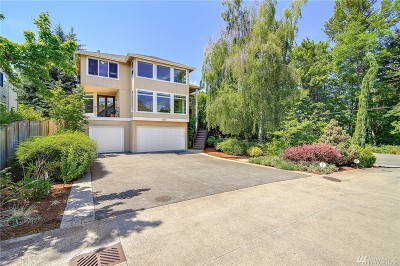 Bellevue Single Family Home For Sale: 11200 SE 60th St