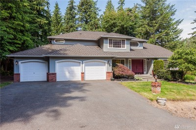 Snohomish Single Family Home For Sale: 20116 70th Ave SE