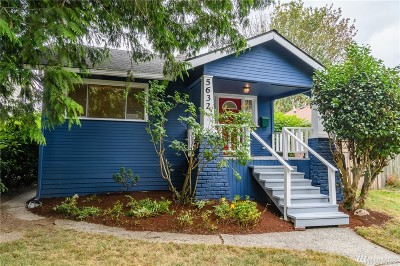 Seattle Single Family Home For Sale: 5632 35th Ave SW