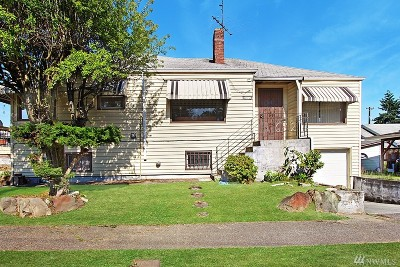 Seattle Single Family Home For Sale: 6812 44th Ave S