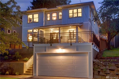 Seattle Single Family Home For Sale: 3633 35th Ave W