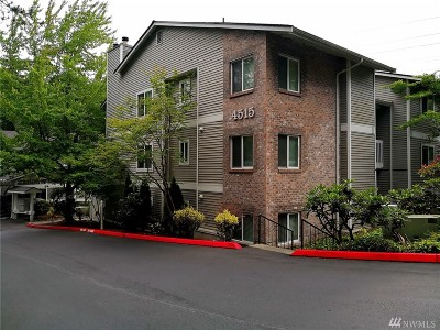 Bellevue Condo/Townhouse For Sale: 4515 125th Ave SE #308