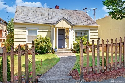 Seattle Single Family Home For Sale: 9440 35th Ave SW