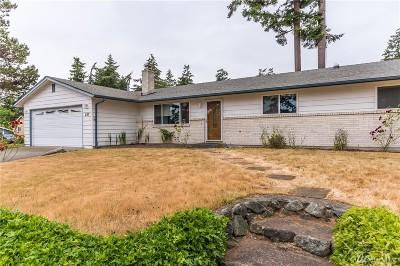 Oak Harbor WA Single Family Home For Sale: $335,000