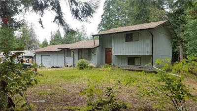 Shelton WA Single Family Home For Sale: $269,000