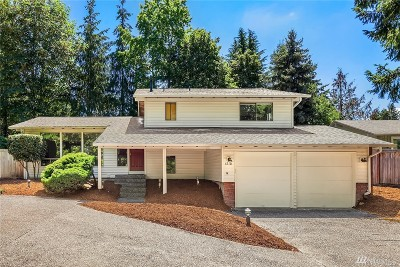 Mercer Island Single Family Home For Sale: 6510 W Mercer Wy
