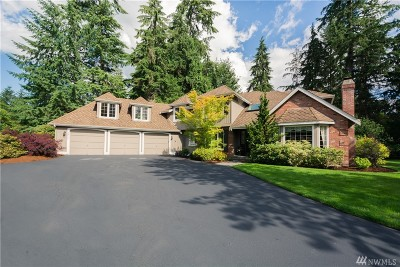 Woodinville Single Family Home For Sale: 18429 NE 196th Place