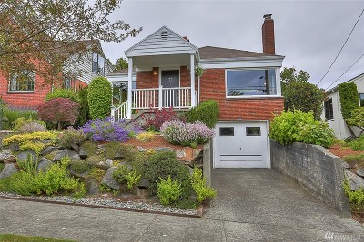Seattle Single Family Home For Sale: 2628 W Plymouth St