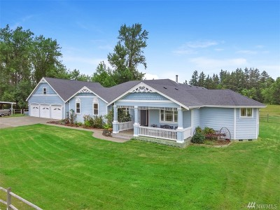 Thurston County Single Family Home Contingent: 13036 Vail Rd SE