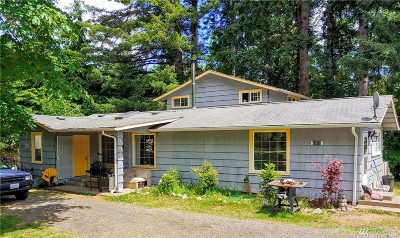 Thurston County Single Family Home For Sale: 4018 Steamboat Island Rd NW