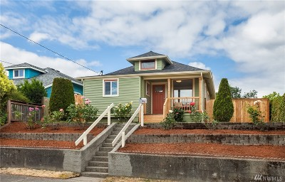 Seattle Single Family Home For Sale: 4604 S Morgan St