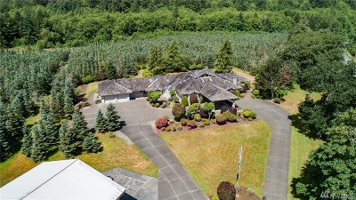 Grays Harbor County Single Family Home For Sale: 79 Middle Satsop Rd