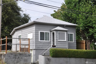 Tacoma Single Family Home For Sale: 909 S Earnest Brazill St