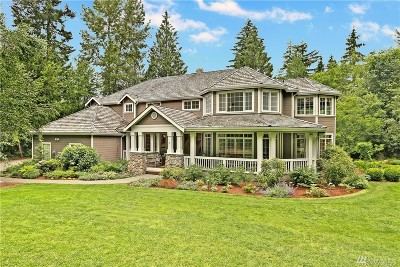 Woodinville Single Family Home For Sale: 20125 223rd Ave NE
