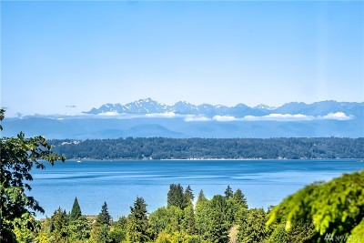 Edmonds Single Family Home For Sale: 1120 Olympic Ave