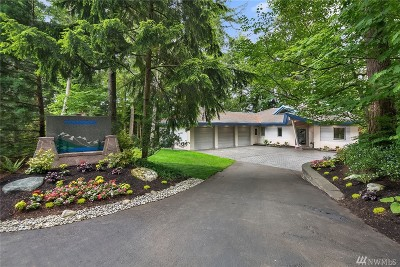 Snoqualmie Single Family Home For Sale: 36956 SE 91st St