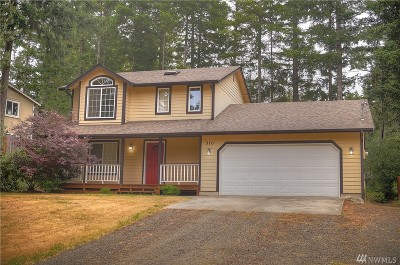 Shelton WA Single Family Home For Sale: $249,500