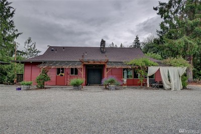 Skagit County Single Family Home For Sale: 10186 Warfield Rd