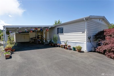 Bellingham WA Mobile Home For Sale: $55,000