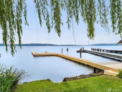 Yarrow Point Single Family Home For Sale: 4427 91st Ave NE