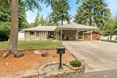 Gig Harbor Single Family Home For Sale: 140 Fir Dr NW