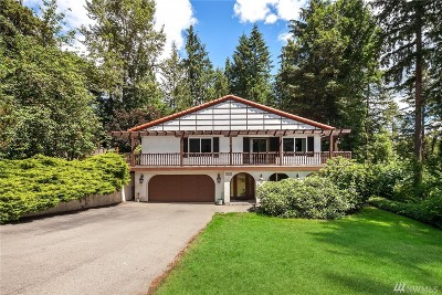 Redmond Single Family Home For Sale: 5430 219th Ave NE