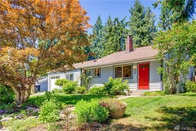 Shoreline Single Family Home For Sale: 1244 NE 168th St