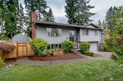 Bothell Single Family Home For Sale: 614 216th St SW